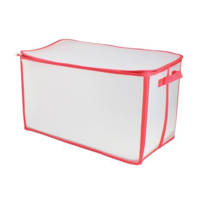 Zip-Up Christmas Decoration Storage Bag (Holds up to 112-Ornaments)