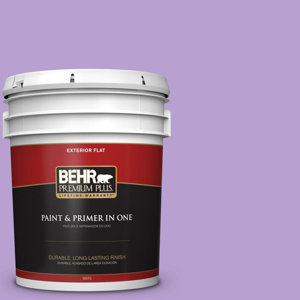5-gal. #P570-3 Flower Girl Flat Exterior Paint