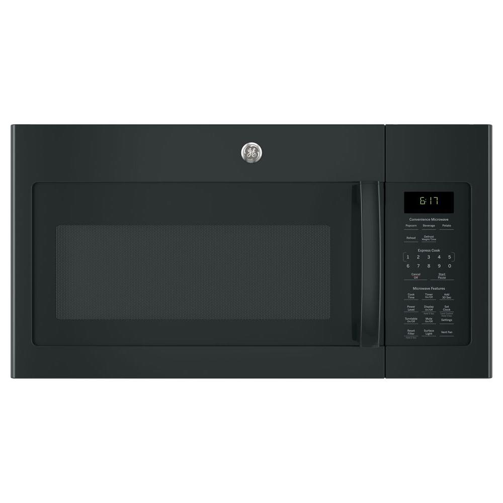 1.7 cu. ft. Over-The-Range Microwave Oven in Black
