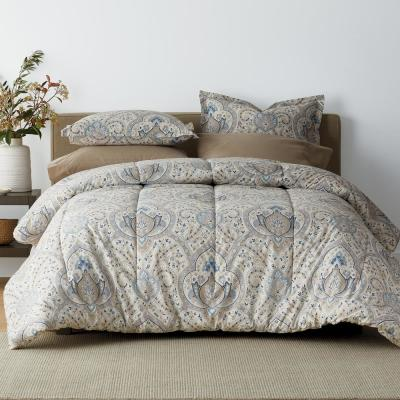 Inverness 200-Thread Count Cotton Percale Comforter Set