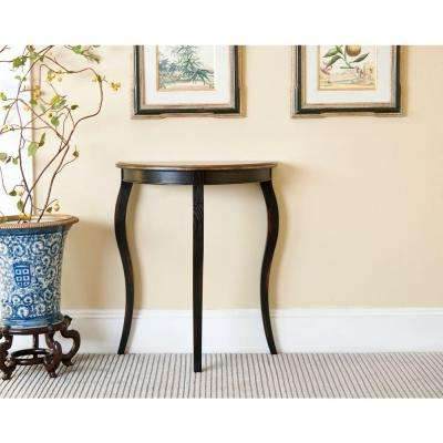 Adriana Brown Console Table