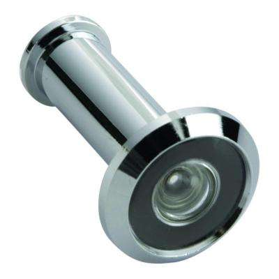 190-Degree Wide Angle Chrome Door Viewer