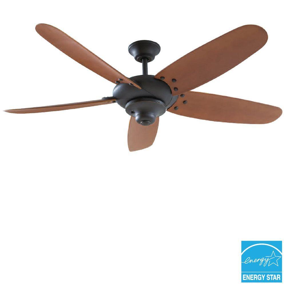 Home Decorators Collection Bentley Ii 18 In Indoor Outdoor Natural Iron Oscillating Ceiling Fan