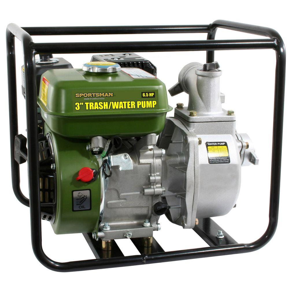 Sportsman 6.5 HP Gas-Powered 3 in. Utility Water Pump