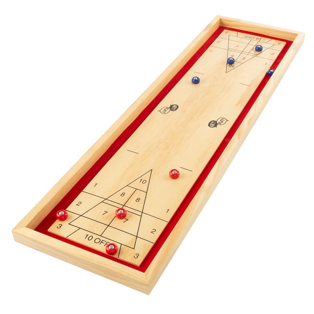 Tabletop Shuffleboard Game