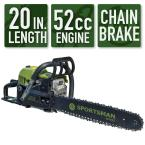 "Sportsman 20"" 52 cc 2-Stroke Gas Chainsaw"