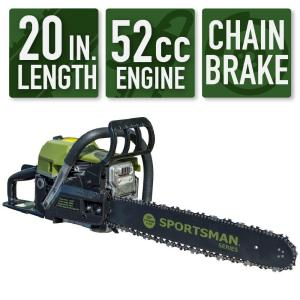 Deals on Sportsman 20-in 52 cc 2-Stroke Gas Chainsaw