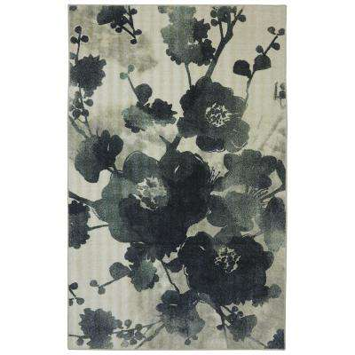 Stream of Blues Water 7 ft. 6 in. x 10 ft. Area Rug
