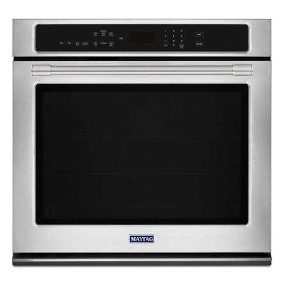 30 in. Single Electric Wall Oven with True Convection in Fingerprint Resistant Stainless Steel