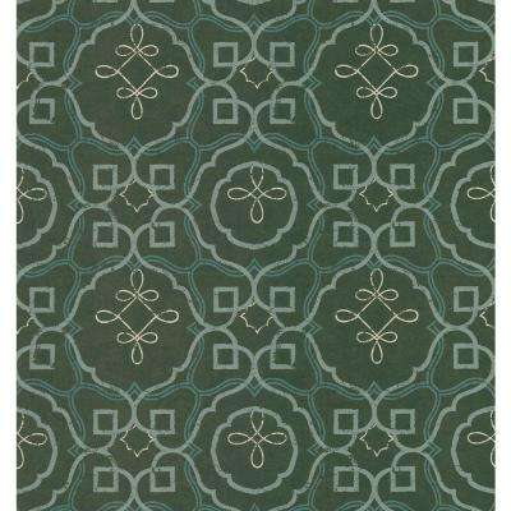 Mosaico Brown Spanish Tile Wallpaper Sample