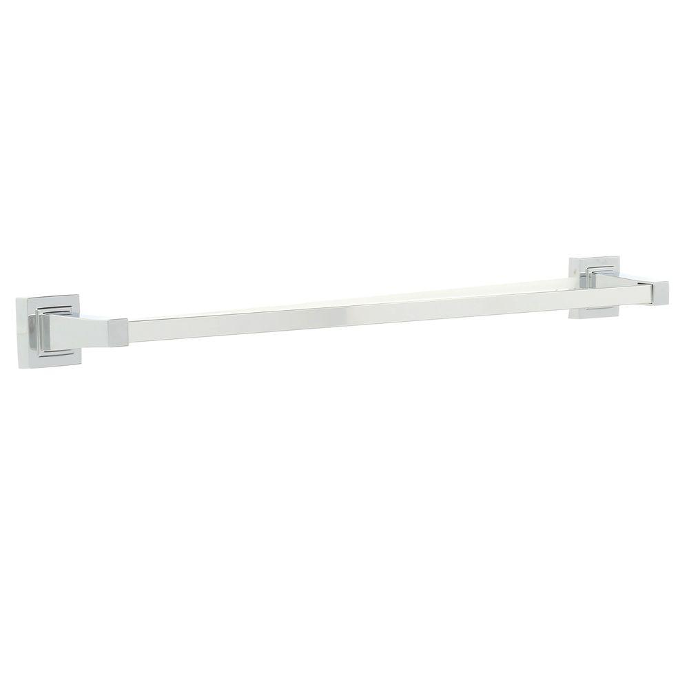 Adelyn 24 in. Towel Bar in Chrome