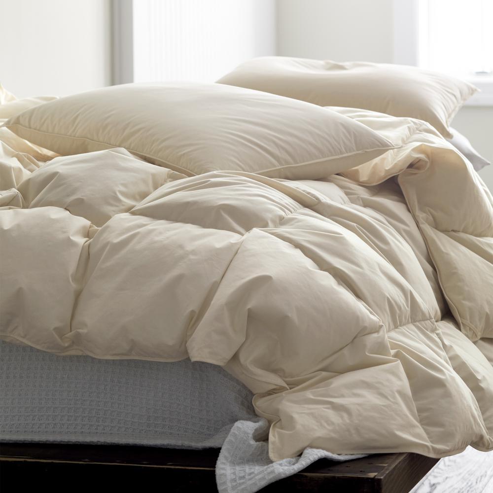 Medium Warmth Organic Cotton Down Comforter