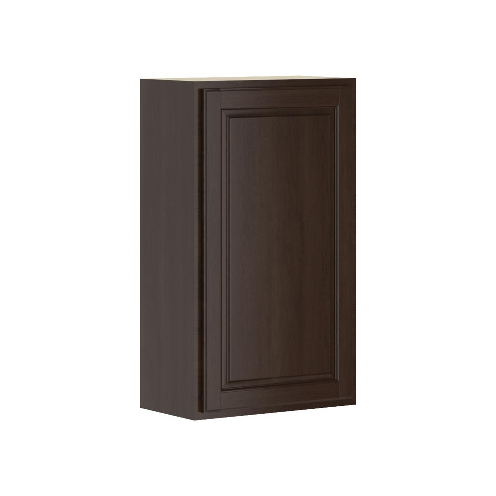 Hampton Bay Madison Assembled 21x36x12 In Wall Cabinet In