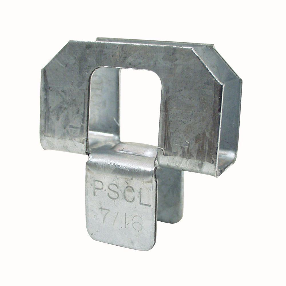 7/16 in. 20-Gauge Plywood Sheathing Clip (250-Pack)