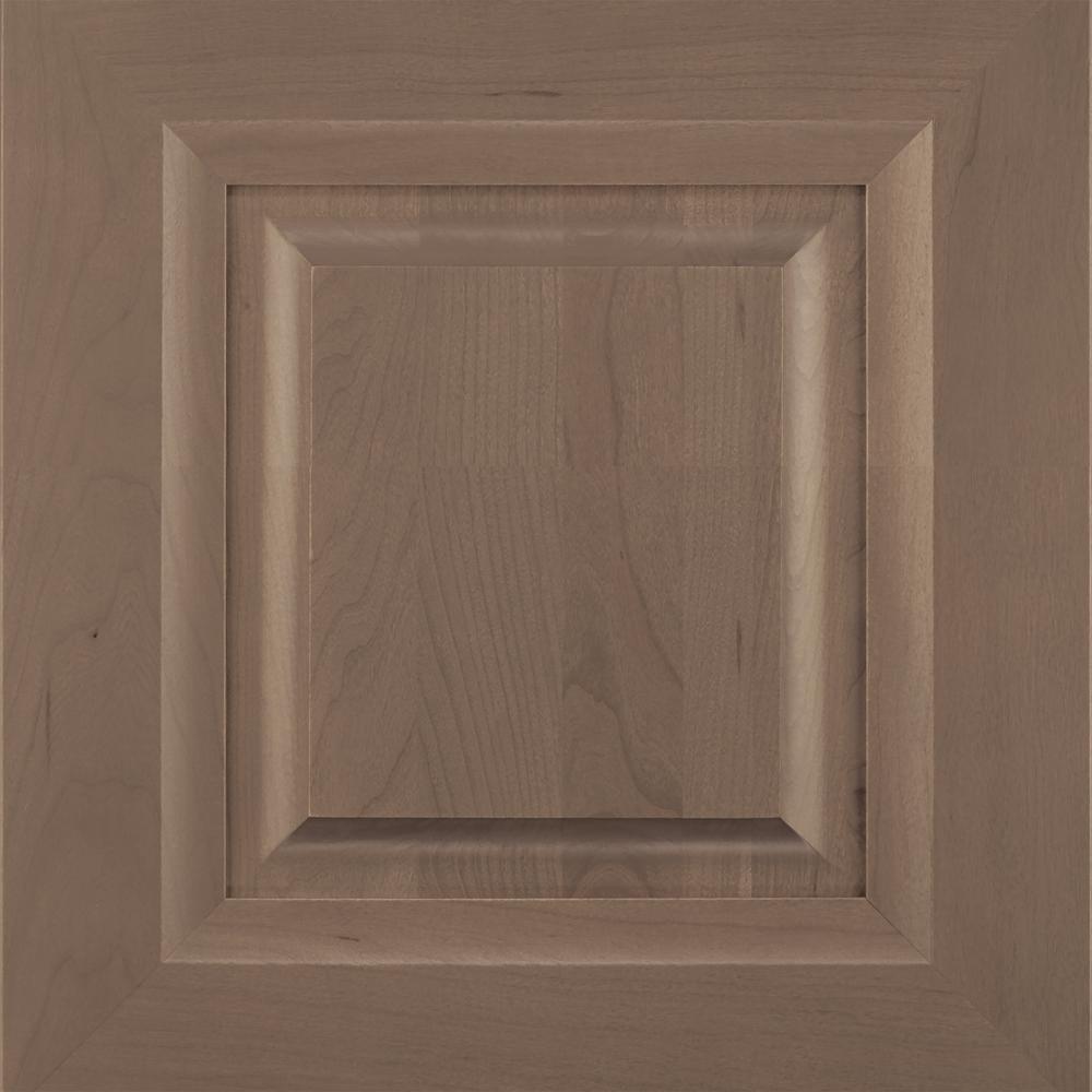 14.5x14.5 in. Cabinet Door Sample in Drennan Heather Gray