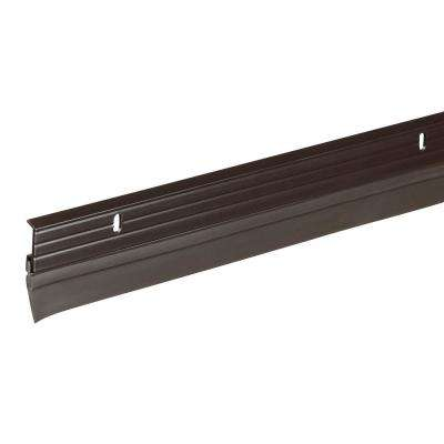 1-5/8 in. x 36 in. Bronze Premium Aluminum and Vinyl Door Sweep