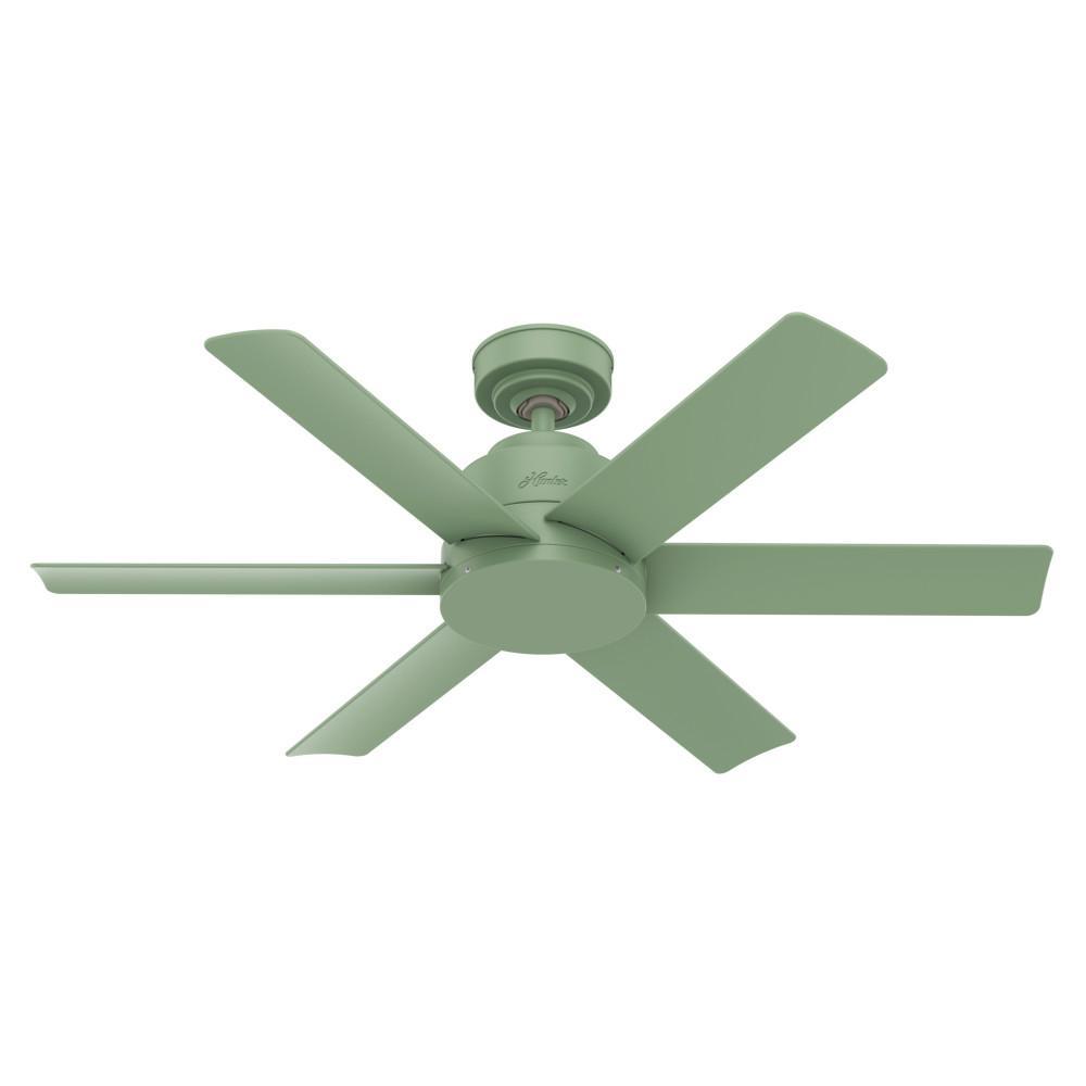 Kennicott 44 in. Indoor/Outdoor Dusty Green Ceiling Fan