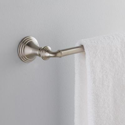 Devonshire 24 in. Towel Bar in Vibrant Brushed Nickel