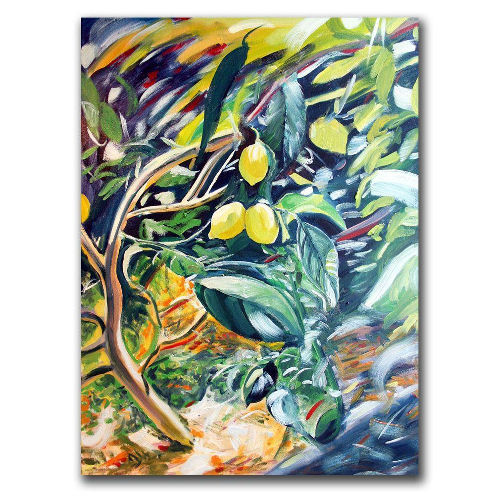 26 in. x 32 in. Lemon Tree Canvas Art