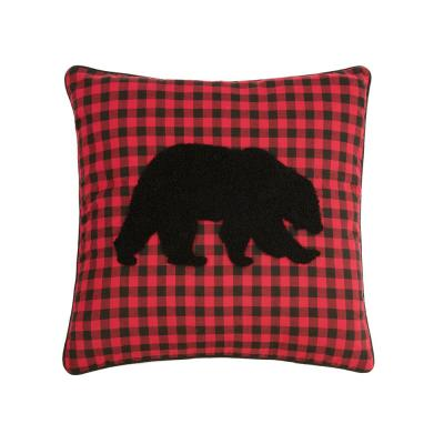 18 in. x 18 in. Woodford Bear Pillow