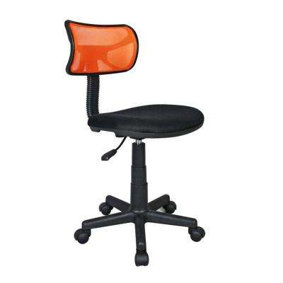 Orange Student Mesh Task Office Chair