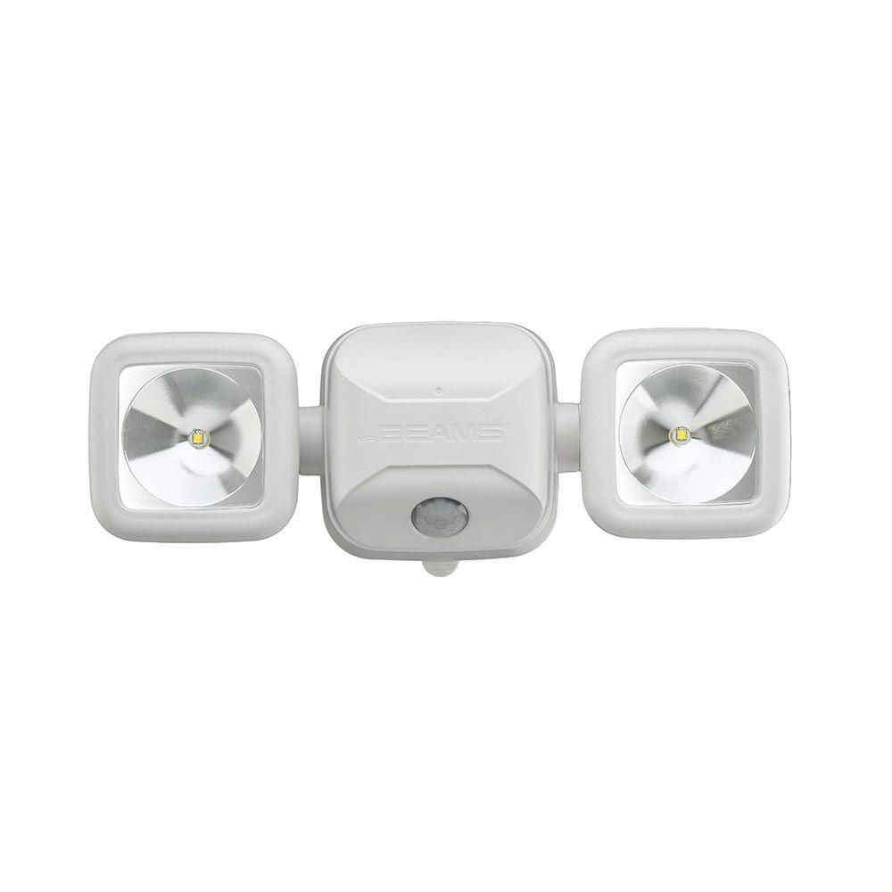 High Performance 500 Lumen White Battery Operated Led Motion Security Light