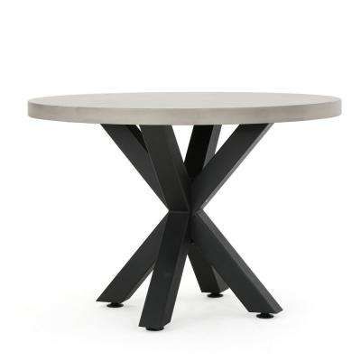 Poppy Circular Stone Outdoor Dining Table