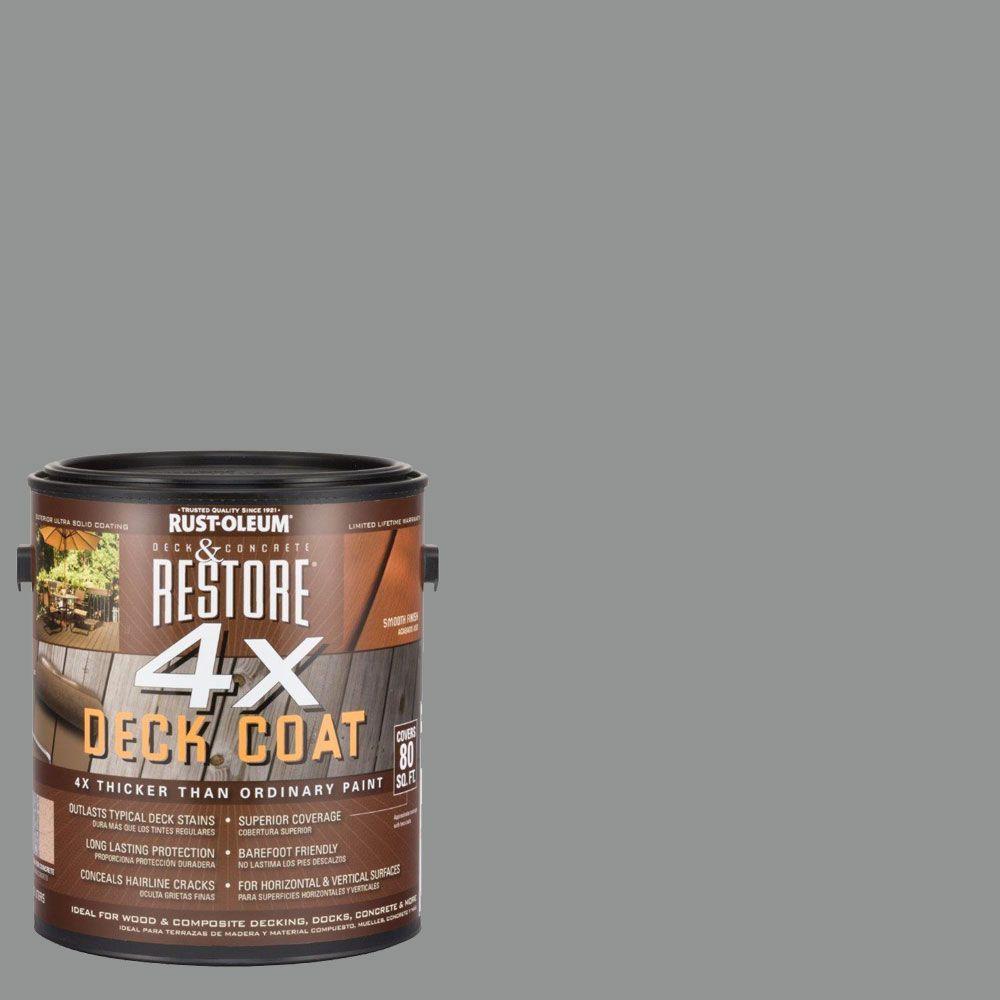 1 gal. 4X Bedrock Deck Coat