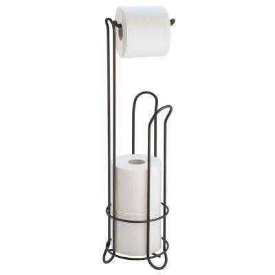 Clico Toilet Paper Holder In Bronze 2 Interdesign