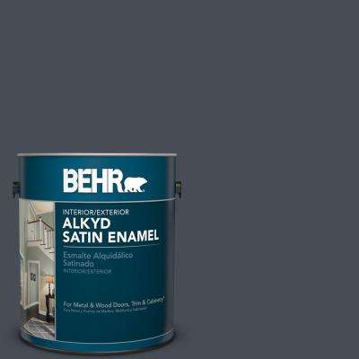 1 gal. #PPU15-20 Poppy Seed Satin Enamel Alkyd Interior/Exterior Paint