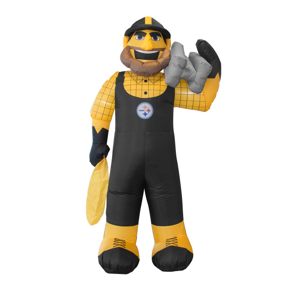 Nfl 7 Ft Pittsburgh Steelers Inflatable Mascot 526371