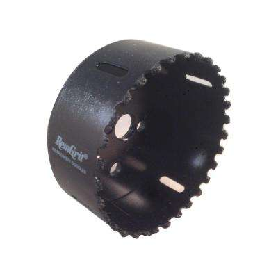 3-3/4 in. Diameter Carbide Grit Hole Saw