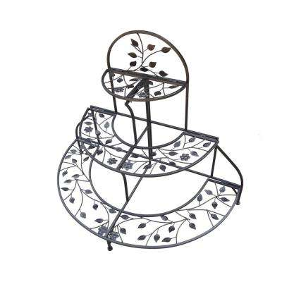 3-Tiered Foldable Plant Stand