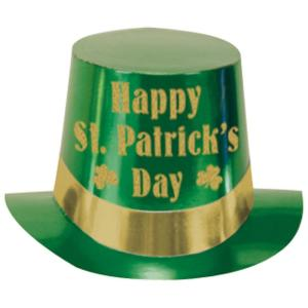 Multicolor Amscan 250800 8 Plastic St Patricks Day Mini Hat Paper