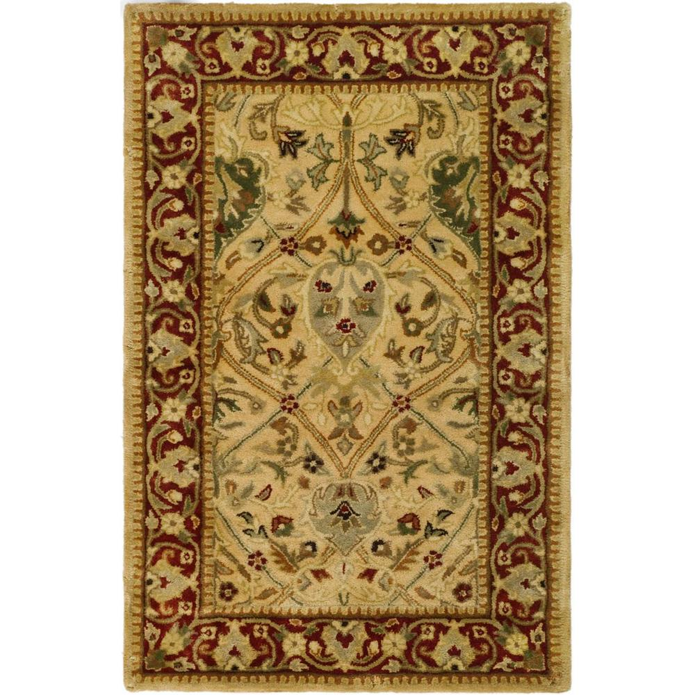Persian Legend Ivory/Rust 2 ft. 6 in. x 4 ft. Area
