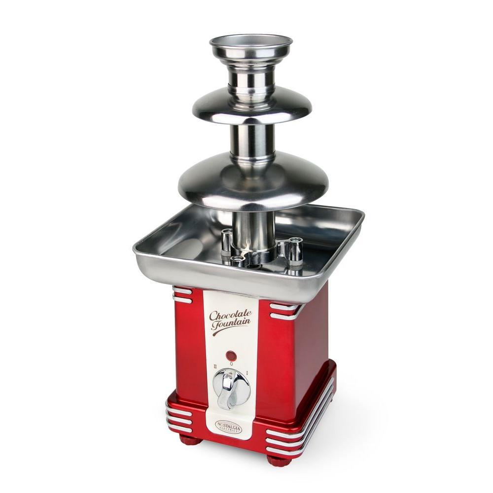 Nostalgia Electrics 1.5 lb Retro Series Chocolate Fondue Fountain-DISCONTINUED