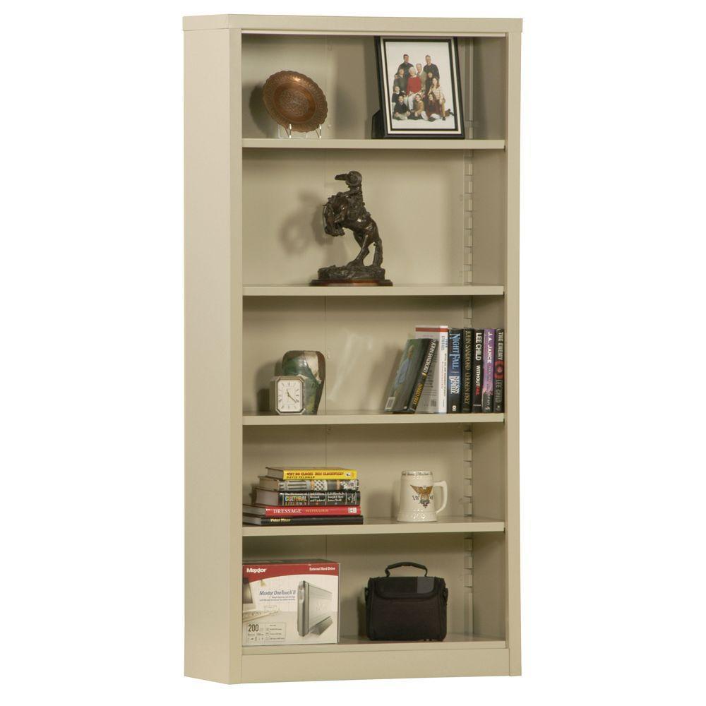 Putty Steel Bookcase