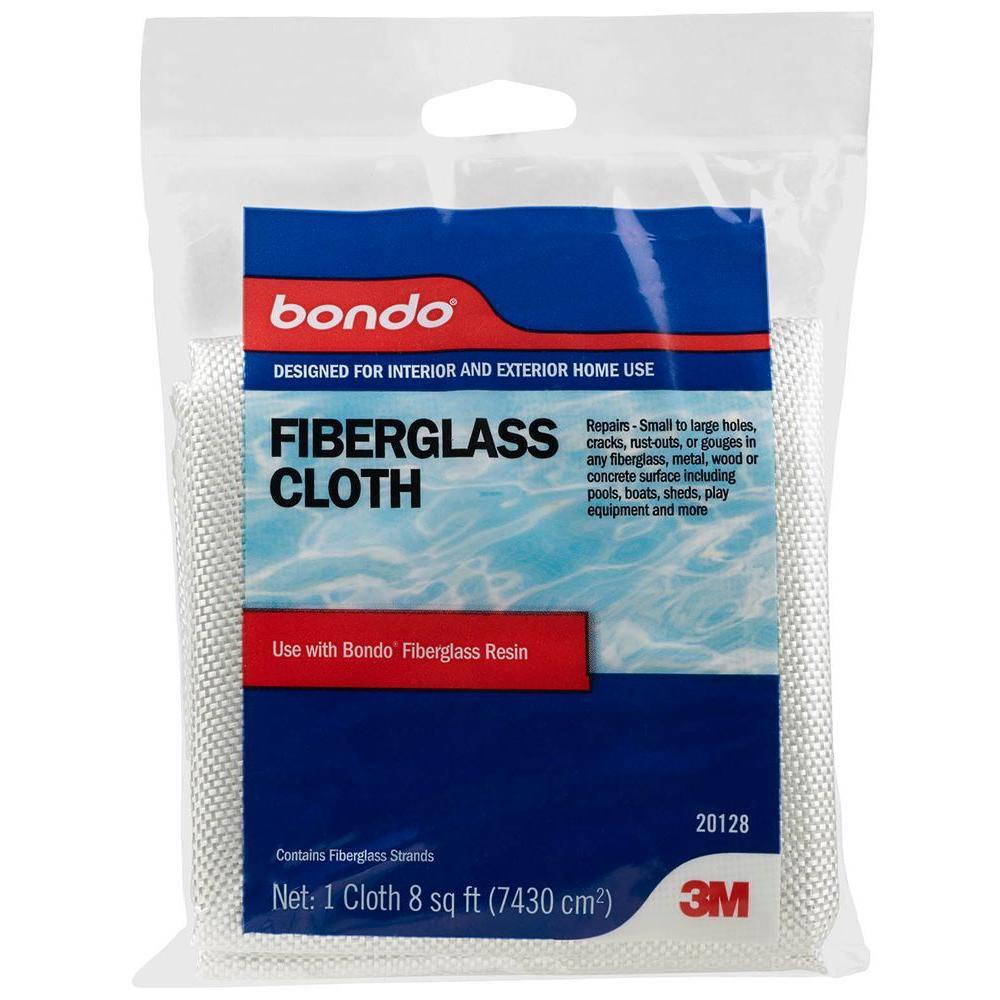 3M Bondo 8 sq  ft  Fiberglass Cloth-20128 - The Home Depot