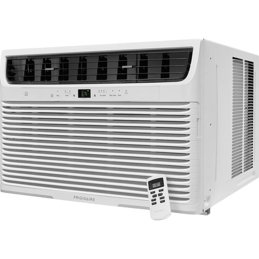 22,000 BTU 230-Volt Window-Mounted Heavy-Duty Air Conditioner with Temperature Sensing Remote Control