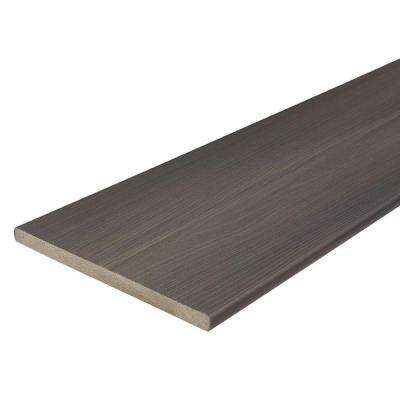ProTect Advantage 3/4 in. x 11-1/4 in. x 12 ft. Gray Birch Capped Fascia Composite Decking Board (10-Pack)