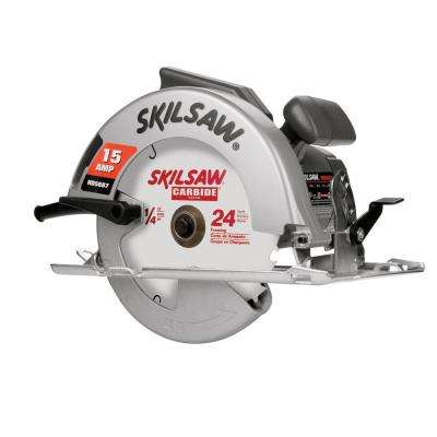 Factory Reconditioned Corded Electric 7-1/4 in. Skilsaw Circular Saw with Blade