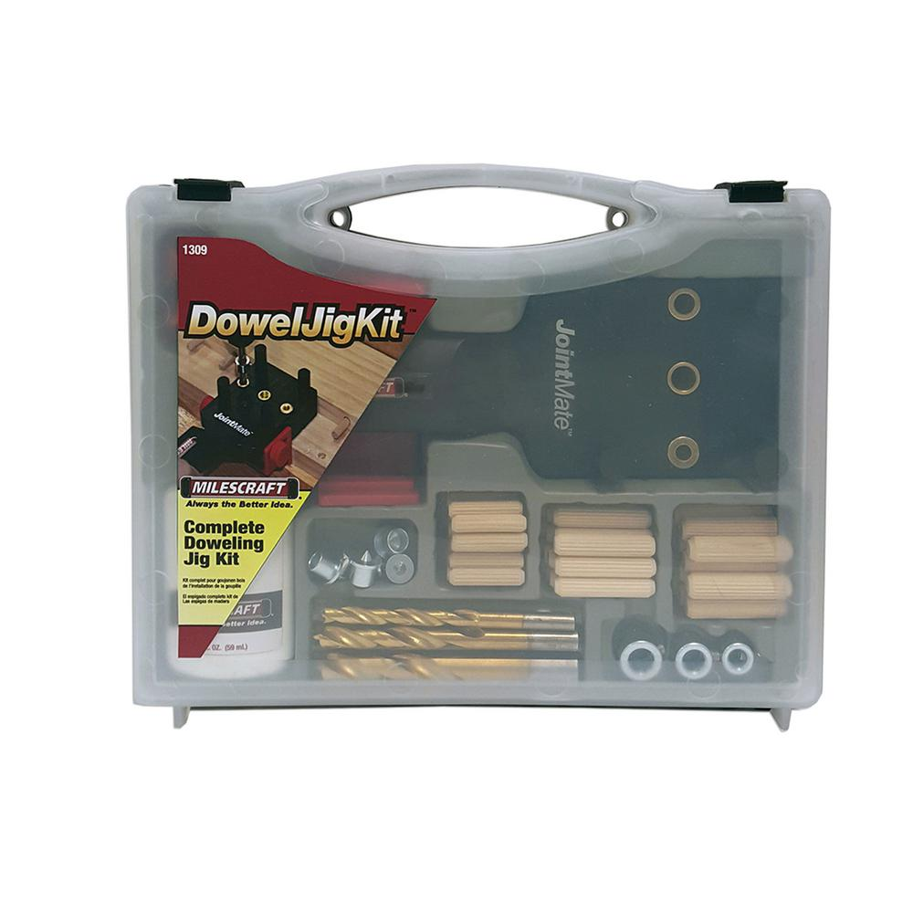 Complete Doweling Kit With Dowel Pins
