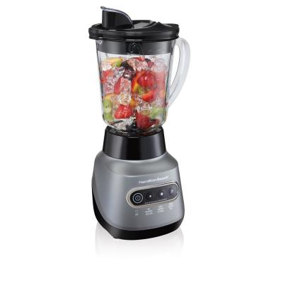 Wave Crusher 40 oz. 6-Speed Gray Blender with 20 oz. Travel Jar