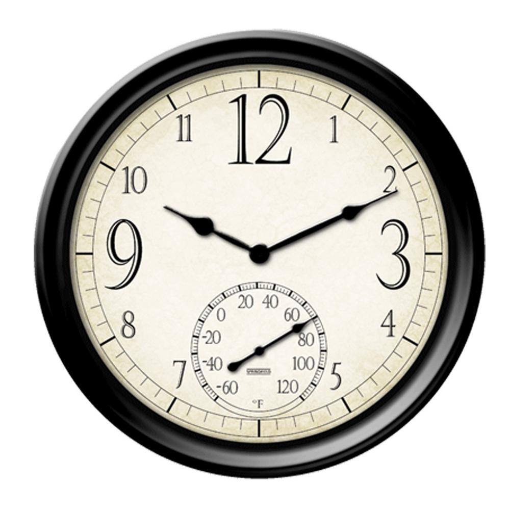 Home Depot Outdoor Clocks And Thermometers