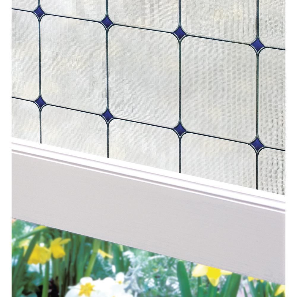 artscape 24 in w x 36 in h sapphire decorative window film 02 3270 the home depot. Black Bedroom Furniture Sets. Home Design Ideas