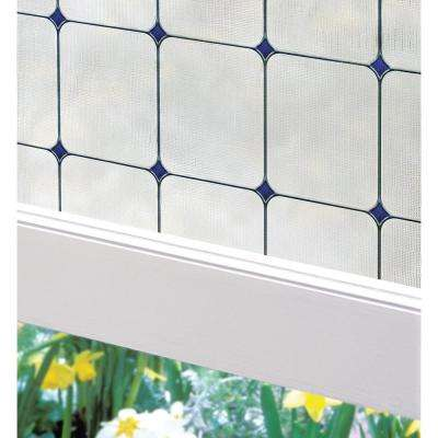 24 in. W x 36 in. H Sapphire Decorative Window Film
