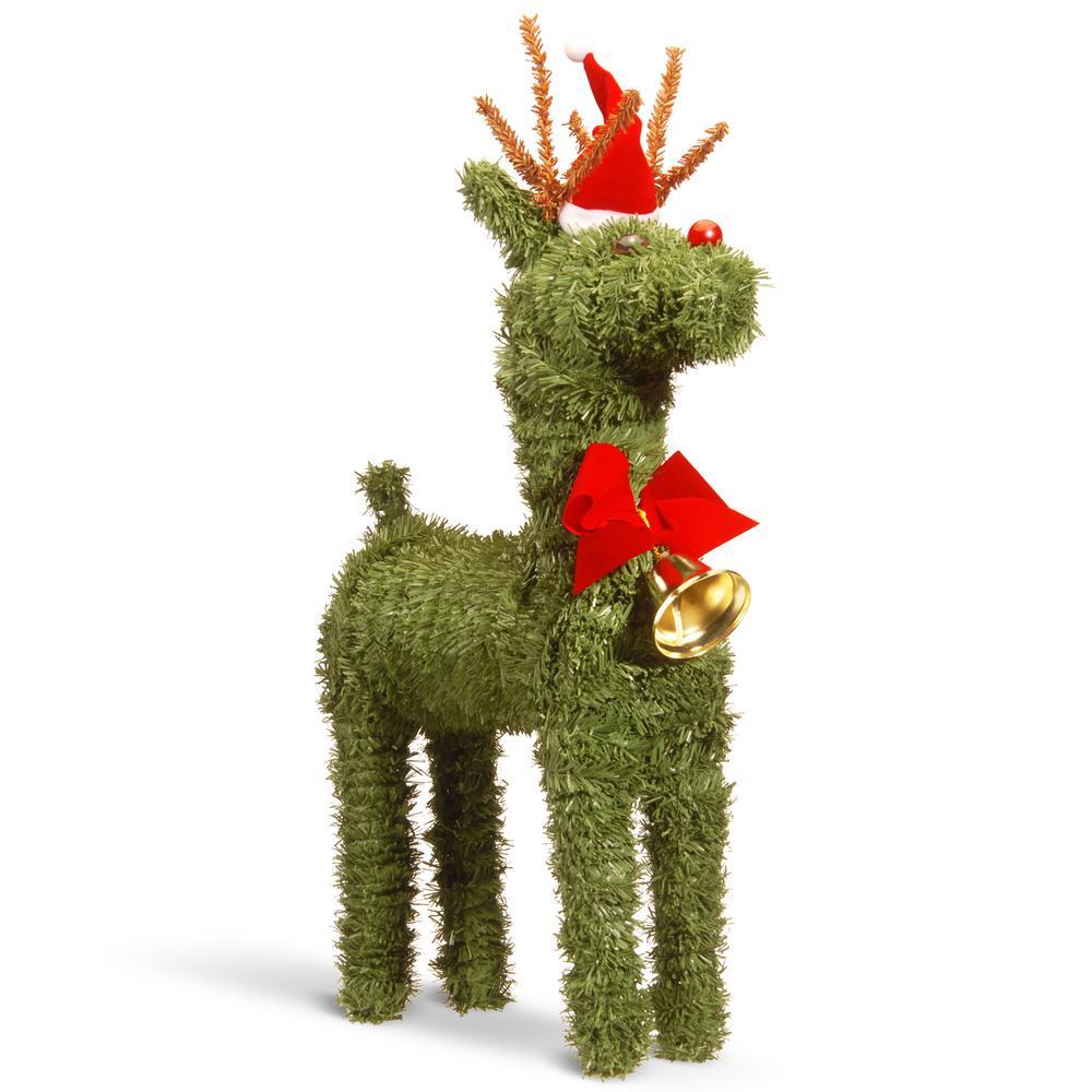 16 in. Evergreen Reindeer