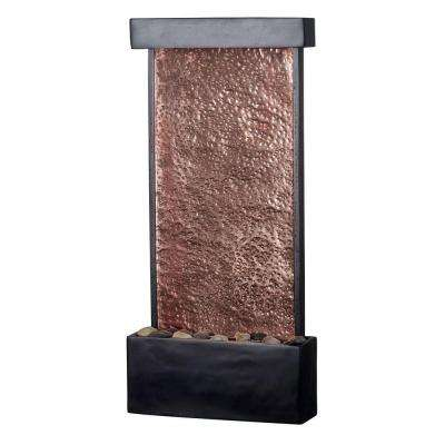 Falling Water Lighted Table/Wall Fountain