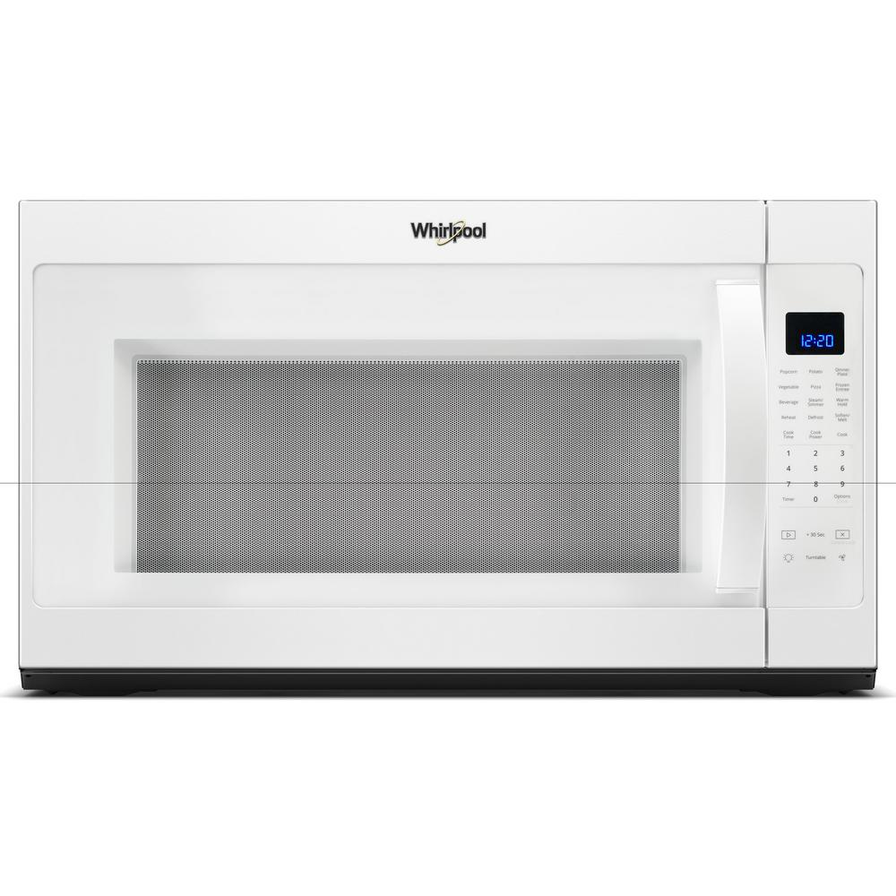 Whirlpool 30 In W 21 Cu Ft Over The Range Microwave