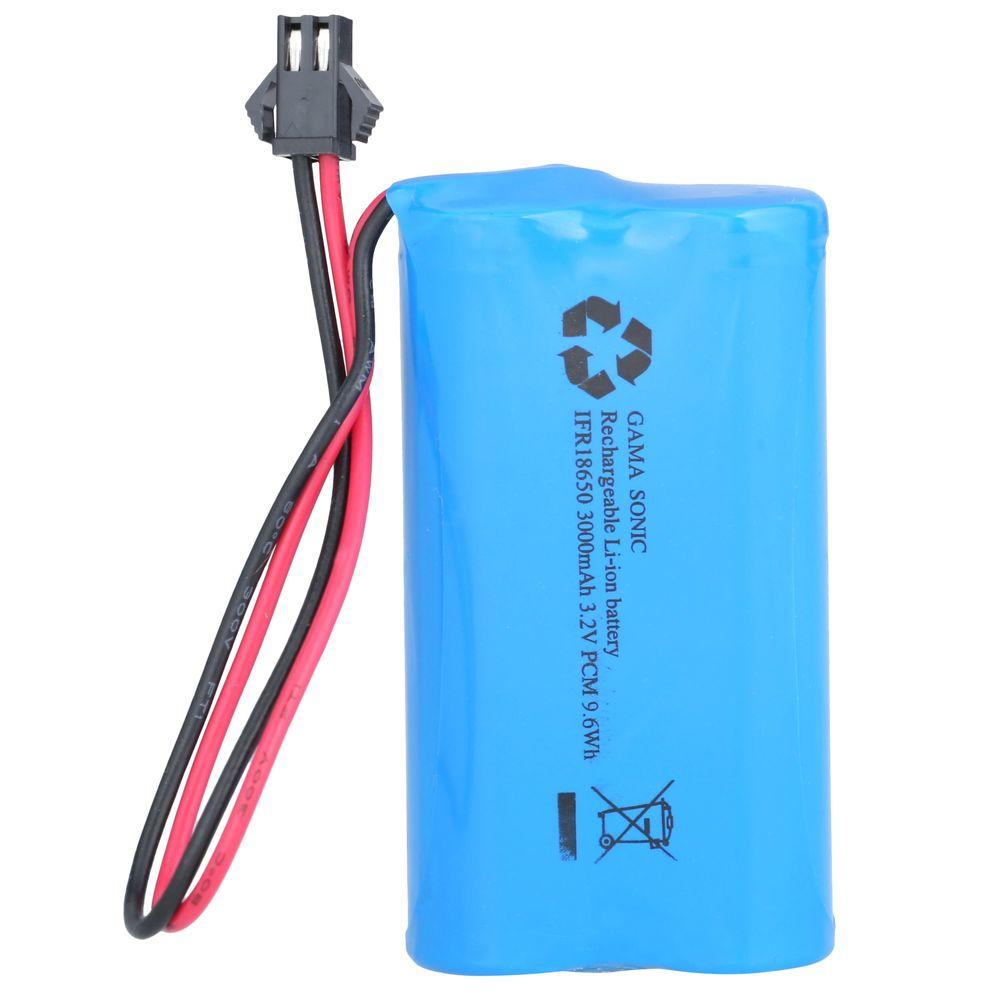 Gama Sonic Replacement Lithium Ion Battery for GS-94, GS-97, GS-103, GS-104 Series Lamp Heads